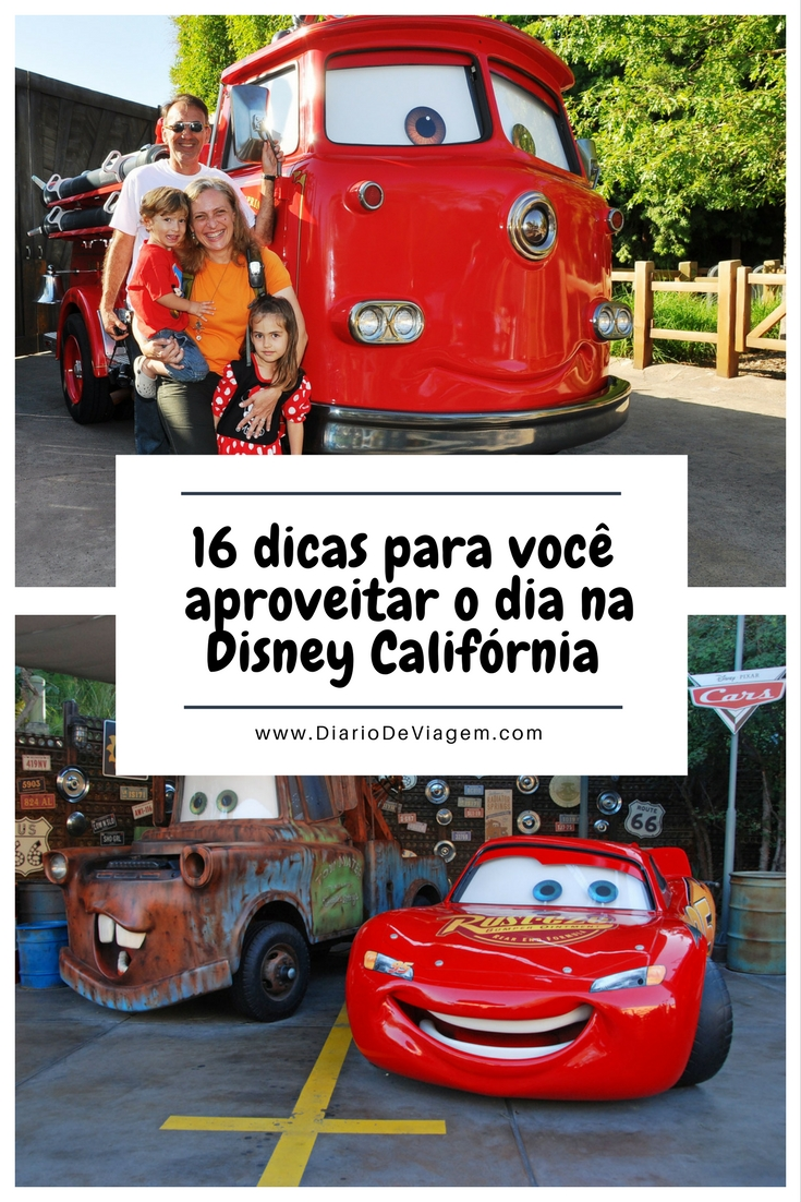 16 dicas para você aproveitar o dia na Disney California