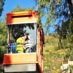 O tal bondinho, aqui chamado de funicular (foto: Plataforma Urbana)