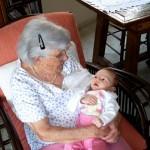 95 anos olhando para 2 meses. Muita emoção...muita mesmo!