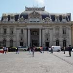 O prédio dos correios na Plaza de Armas
