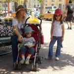 Delícia, achamos uma sombrinha na Plaza de Armas!