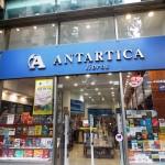 Antartica: uma das opções de livraria em Santiago