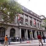 """Sede de um banco chileno em um dos """"paseos"""""""