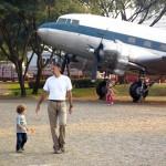 Avião DC-3 que foi utilizado como cargueiro na Segunda Guerra Mundial