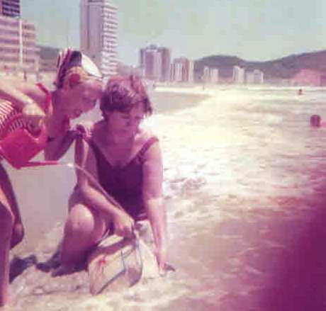 Balneário Camboriú com a vovó