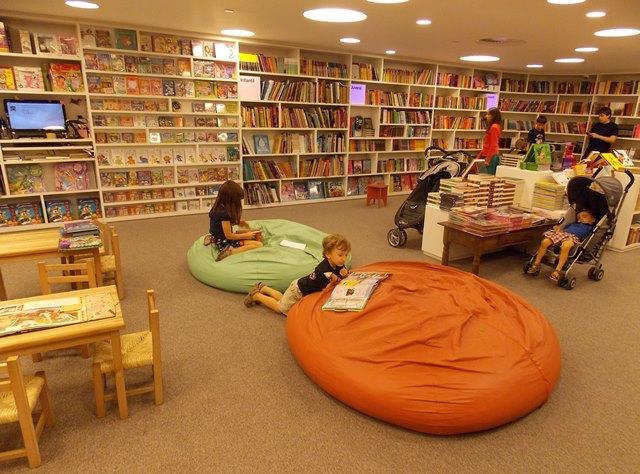 Resultado de imagem para livraria infantil