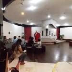 Missa no Espaço Ecumênico na nossa última visita