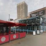 Gabriel´s Wharf, opções mais em conta. (Imagem: Google Street)