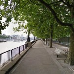 A outra margem vazia... só se você chegar cedo. (Imagem: GoogleStreet)