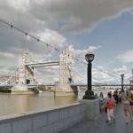 Tower Bridge, a rainha das pontes. (Imagem: GoogleStreet)