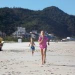 Acertamos na faixa de areia: muito espaço para correr