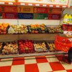 Fazendo a feira no supermercado