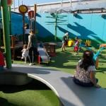 Eles adoraram esse playground