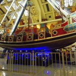 Barco viking no Neverland