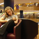 Amamentando na Livraria Cultura