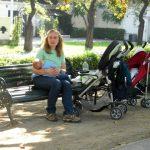 Amamentando no Parque Arauco