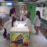 Kidzania Sao Paulo fabrica de sucos