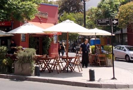 As delícias do bairro Lastarria em Santiago