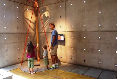 Toque em tudo no Museo Interactivo Mirador