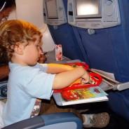 12 dicas para viajar de avião com crianças pequenas
