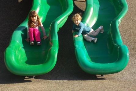 Vai viajar para os EUA? Procure um playground!