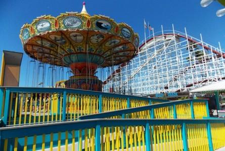 Santa Cruz: parque de diversões mais antigo da Califórnia