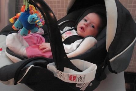 A primeira viagem da família com um bebê