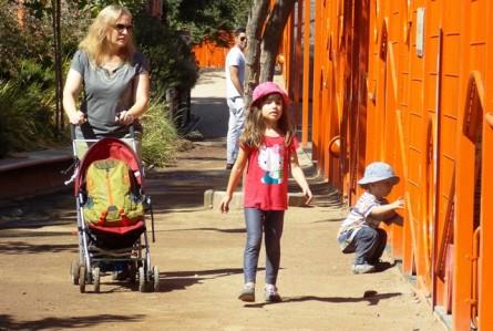 Playground para 2 mil crianças? Santiago tem!