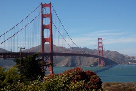 Dois dias tentando fotografar a Golden Gate