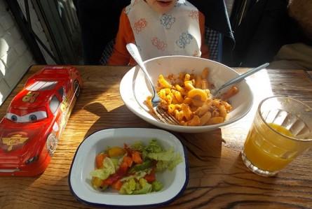 A comida italiana do inglês Jamie Oliver