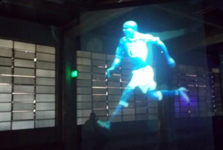 Ficamos apaixonados pelo Museu do Futebol em SP