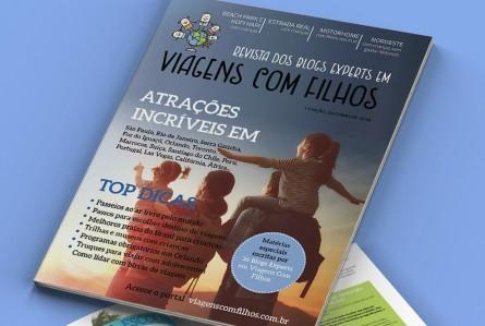 A revista dos melhores blogs de viagens com filhos é gratuita