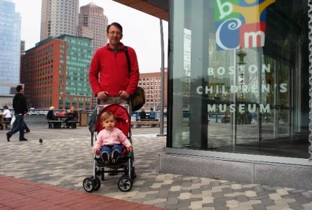Imagem do dia: primeira vez no Children's Museum