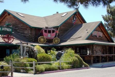 Um restaurante dos filmes de faroeste