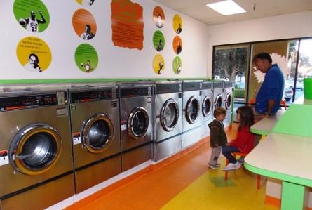 Imagem do dia: diversão na lavanderia