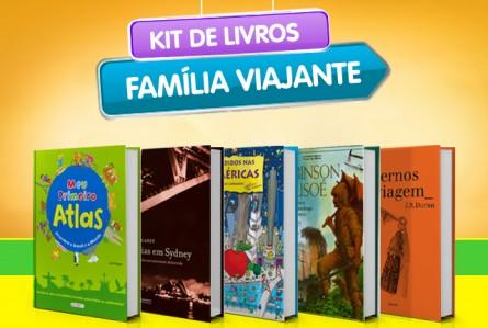 Os 12 leitores que ganharam o kit de livros