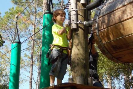 O que fazer em Orlando além dos parques: Tree Trek Adventure
