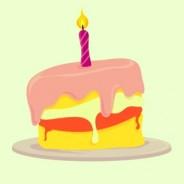 Parabéns pra você… Muitos anos de vida!