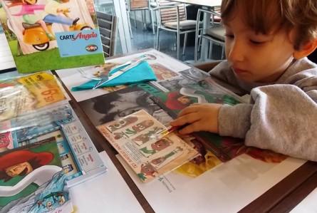Cardápio e serviço kid-friendly na França